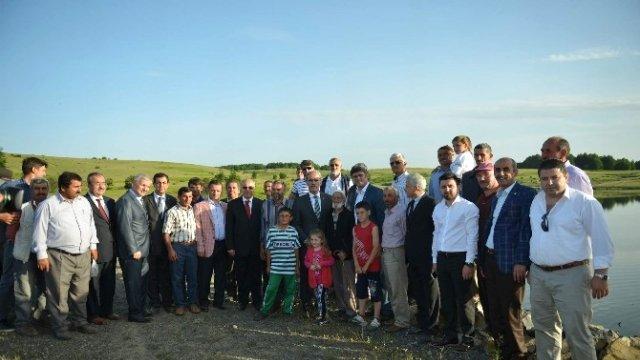 Bursa'da Toprak Suyla Buluşuyor Çiftçinin Yüzü Gülüyor