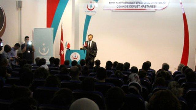 Bursa'dan, Sağlık Çalışanlarına Yönelik Terör Saldırılarına Tepki