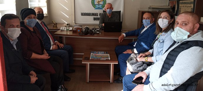 MHP'den KGD'ye Ziyaret