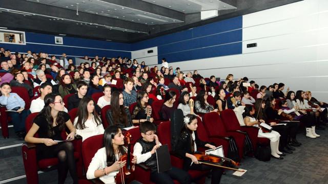 Nilüferli Genç Yeteneklerden Yeni Yıl Konseri